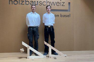2. Lehrjahr: Elia Wyssen & Lars Brogli