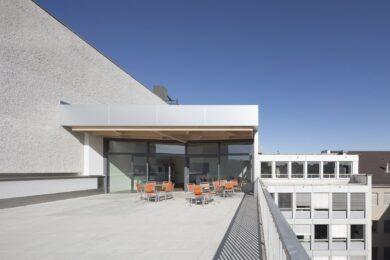 Dachpavillon Basler Kantonalbank in Basel