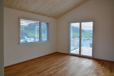 Holzparkettboden - Holzbau - Holzhaus - Holzsystembau - PM Mangold