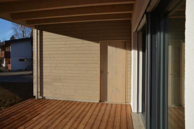 Holzterasse - Holzbau - Holzhaus - Holzsystembau - PM Mangold