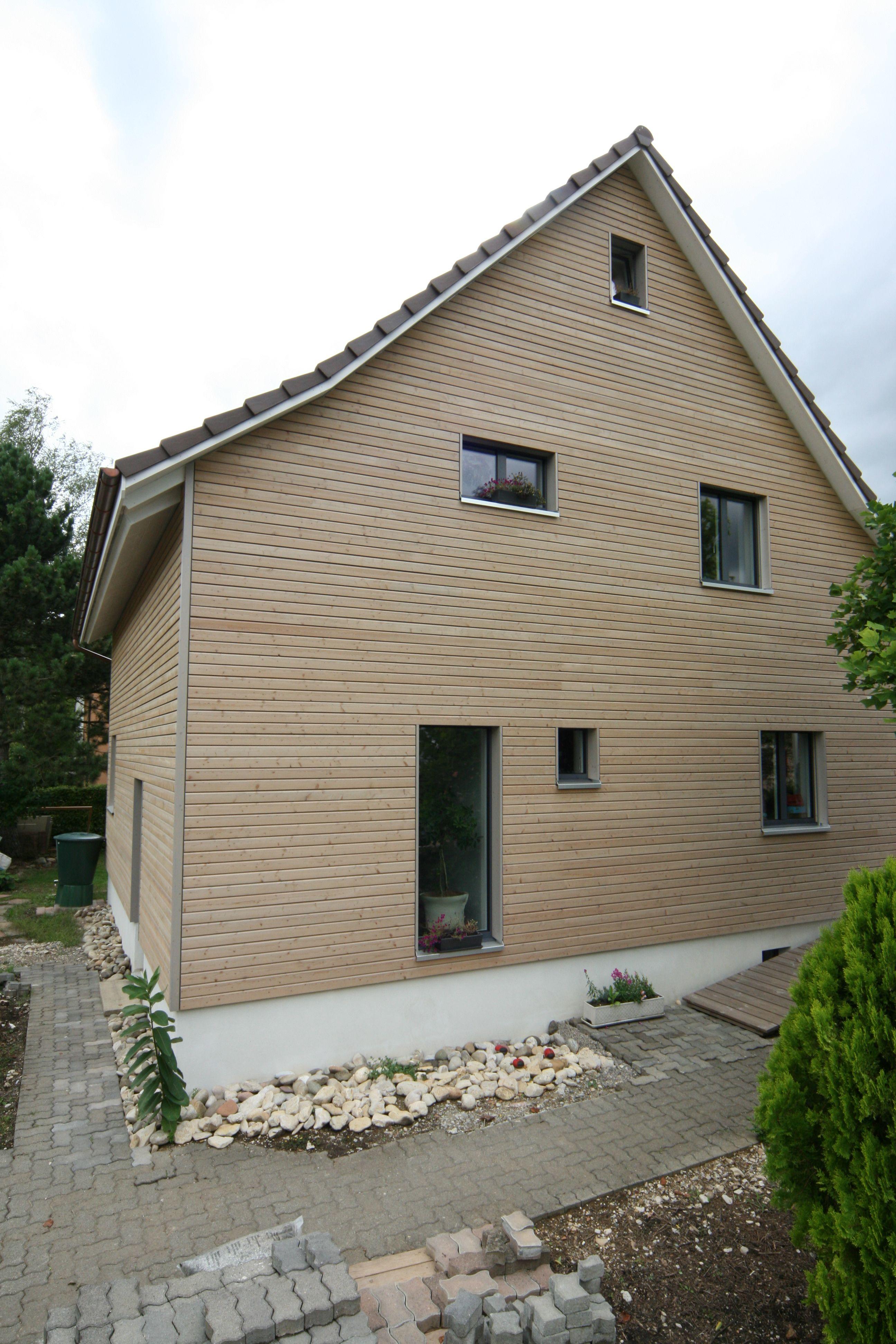 Holzfassaden ihr holzhaus von pm mangold ag for Architekt holzhaus