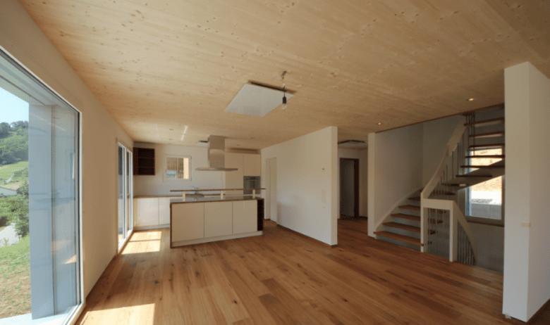 Innenraumgestaltung mit Holz
