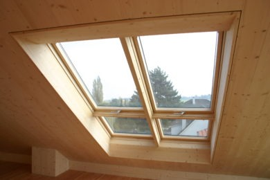 Spezialdachfenster aus Holz - Holzbau - Holzhaus - Holzsystembau - PM Mangold
