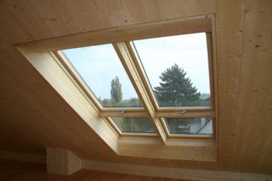 Profi-Dachfensterfutter aus Holz - Holzbau - Holzhaus - Holzsystembau - PM Mangold