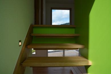 Holztreppengeländer - Holzbau - Holzhaus - Holzsystembau - PM Mangold