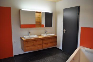 orange Holzmöbel - Holzbau - Holzhaus - Holzsystembau - PM Mangold