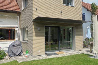 schmaler Holzbau - Holzbau - Holzhaus - Holzsystembau - PM Mangold