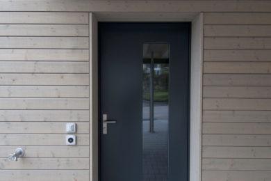 Helle Holzwand - Holzbau - Holzhaus - Holzsystembau - PM Mangold