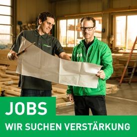 Offene Stellen bei PM Holzbau. Ihr Partner für Holzbau in der Region.