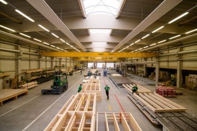 Holzfabrik- Holzbau - Holzhaus - Holzsystembau - PM Mangold