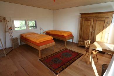 Holzdoppelzimmer - Holzbau - Holzhaus - Holzsystembau - PM Mangold