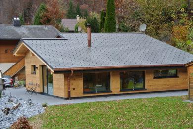 neues Holzhaus - Holzbau - Holzhaus - Holzsystembau - PM Mangold