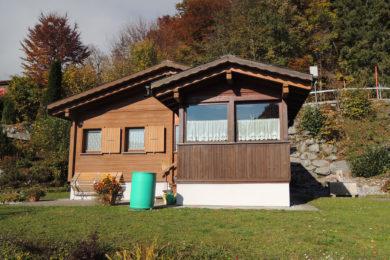 Holzhaus in der Natur vorher - Holzbau - Holzhaus - Holzsystembau - PM Mangold