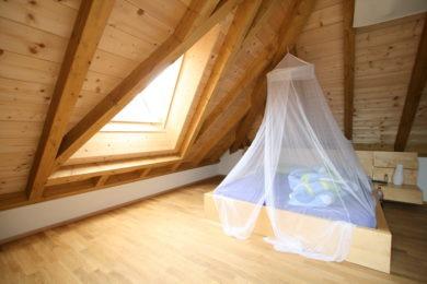 Dachstock aus Holz - Holzbau - Holzhaus - Holzsystembau - PM Mangold