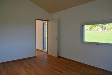 Aussentüre mit Holzrahmen - Holzbau - Holzhaus - Holzsystembau - PM Mangold