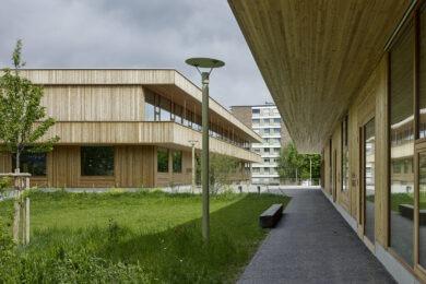 Schulhaus und Kindergarten Wilmatt in Therwil