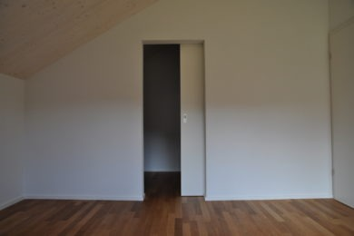 Schiebetüre aus Holz - Holzbau - Holzhaus - Holzsystembau - PM Mangold