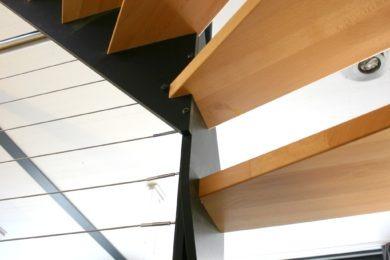 Holztreppenstufen - Holzbau - Holzhaus - Holzsystembau - PM Mangold