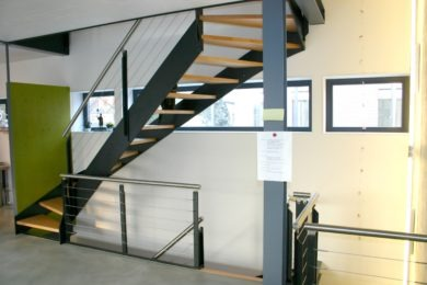 Treppe aus Holz - Holzbau - Holzhaus - Holzsystembau - PM Mangold