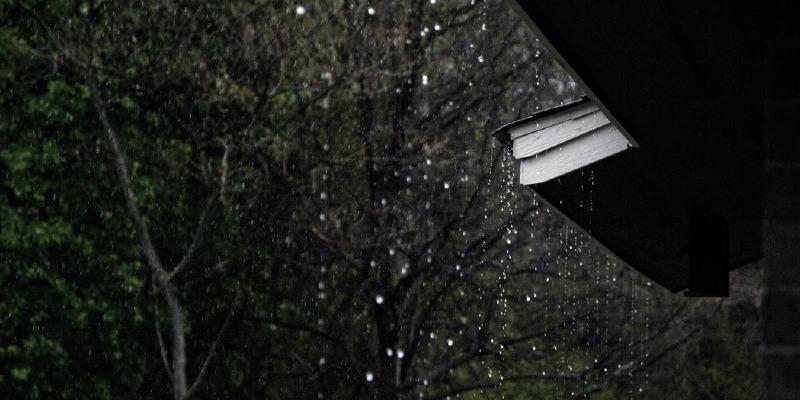 Das Dach: Den Witterungen ausgeliefert