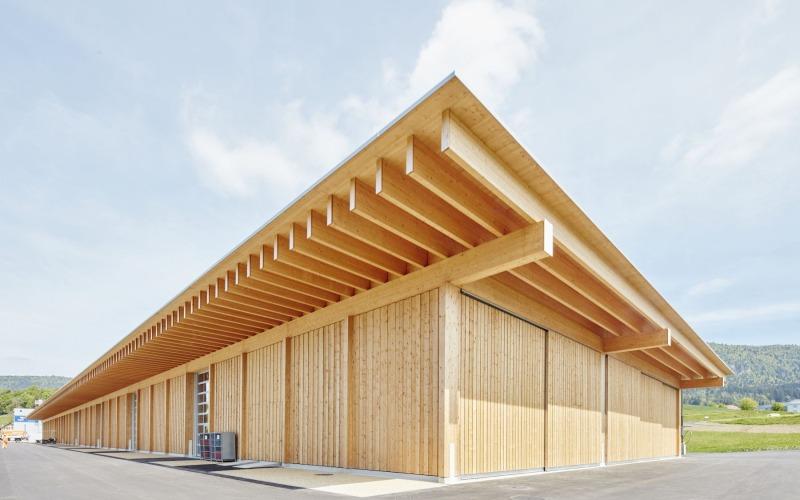 Warum geht das Bauen mit Holz schnell?